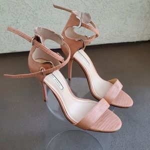 Zara Criss Cross Heels